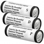 2014 Great Smoky Mountains National Park Quarter Three-Roll Set (US Mint image)