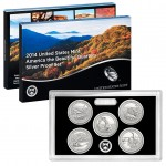 2014 United States Mint America the Beautiful Quarters Silver Proof Set™