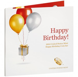 2014 United States Mint Happy Birthday Coin Set (US Mint image)