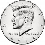 2014 Kennedy Half-Dollar (US Mint image)
