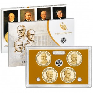2014 United States Mint Presidential $1 Coin Proof Set™ (US Mint image)