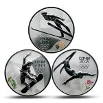 Sochi 2014 Winter Games 3-Coin Subscription Collection #1