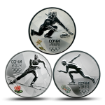 Sochi 2014 Winter Games 3-Coin Subscription Collection #2