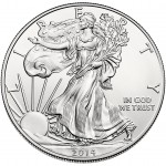 2014 American Silver Eagle Uncirculated Coin