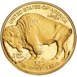 2014 American Buffalo One Ounce Gold Proof Coin (Reverse)