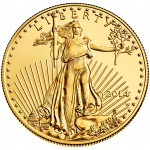 2014 American Eagle One Ounce Gold Uncirculated Coin