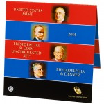 2014 Presidential $1 Coin Uncirculated Set