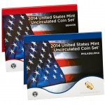 2014 United States Mint Uncirculated Coin Set®