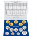2014 United States Mint Uncirculated Coin Set® Inside
