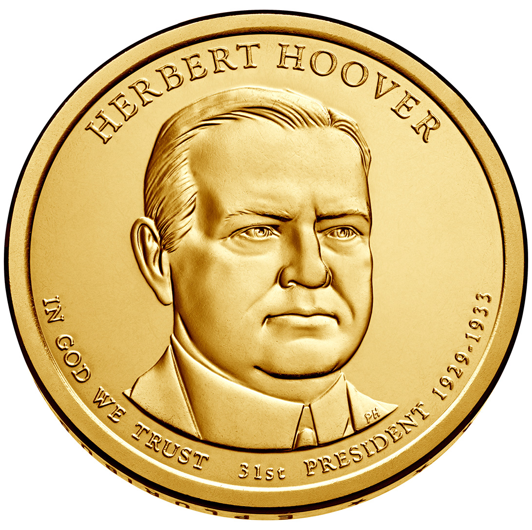 herbert hoover 1 he was the first president born west of the mississippi river herbert clark hoover was born on august 10, 1874, in a two-room, whitewashed cottage built by his father in west branch, iowa, a.