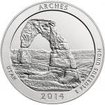 Arches National Park America the Beautiful Reverse