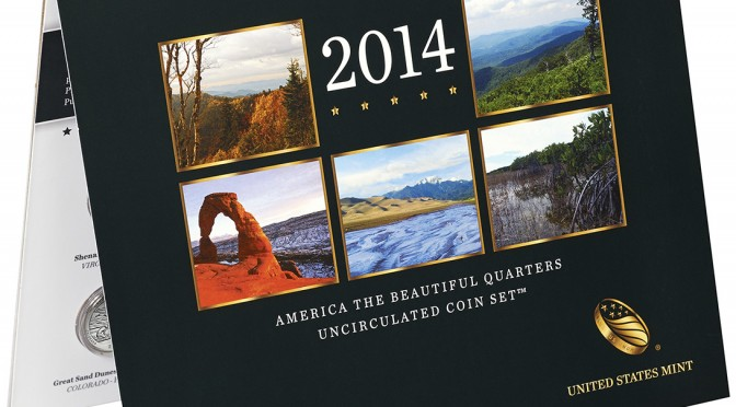 2014 America the Beautiful Quarters Uncirculated Coin Set™ (US Mint image)