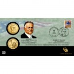 2014 Herbert Hoover $1 Coin Cover (US Mint image)