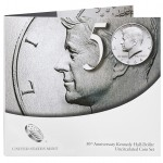 50th Anniversary Kennedy Half-Dollar Uncirculated Coin Set (US Mint image)
